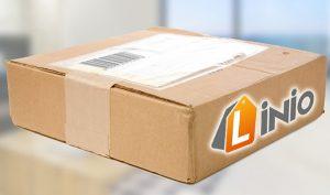 Entrega de paquete con Linio